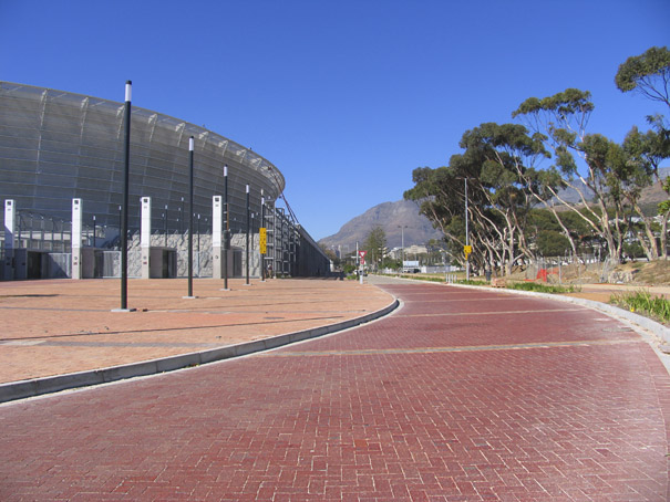 Cape Town Stadium : Paving & Walkways